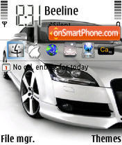 AudiTT theme screenshot