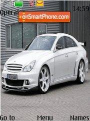 Mercedes tema screenshot