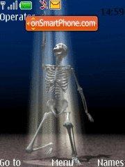 Скриншот темы Skeleton Dance