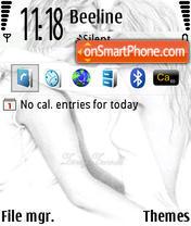 Скриншот темы GrafiX v2