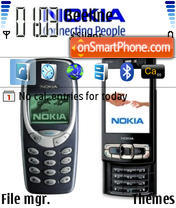 3310 N95 for N80 theme screenshot