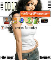 Katrina Kaif 07 theme screenshot