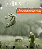 Zombi 01 es el tema de pantalla
