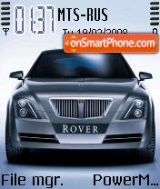 Rover Logo theme screenshot