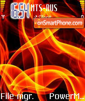 Fire 06 theme screenshot