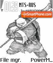 Panda Symbian7,8 es el tema de pantalla