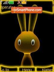 Скриншот темы Neon Rabbit