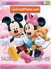 Micky Minnie Love es el tema de pantalla