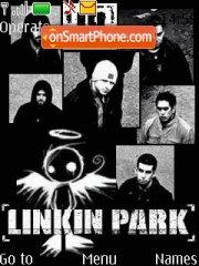 Linkin Park theme screenshot