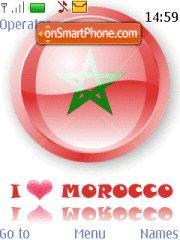 I Love Morocco theme screenshot