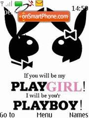 Playboy Playgirl theme screenshot