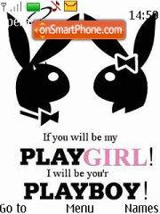 Скриншот темы Playboy Playgirl