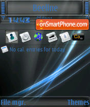 Vista Business S60v3 tema screenshot