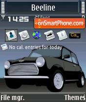Скриншот темы Mini Cooper S60v3