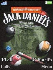 Jack Daniels 01 theme screenshot