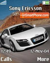 Audi R8 04 es el tema de pantalla