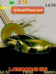 Скриншот темы Lamborghini 08