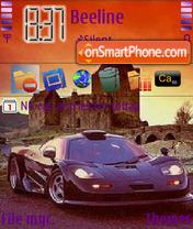 Mclaren F1 Gt es el tema de pantalla