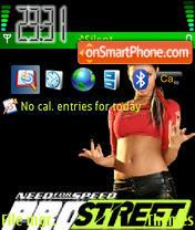 Capture d'écran Nfs Pro Street 04 thème