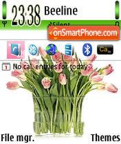 Tulips 01 es el tema de pantalla