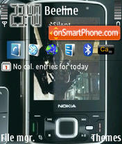 Nokia N96 theme screenshot