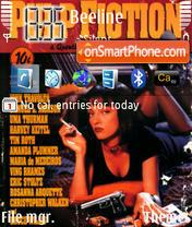 Pulp Fiction es el tema de pantalla
