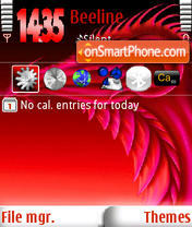 Red Dragon s60v3 Theme-Screenshot