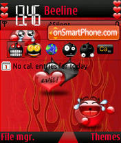Eil Love s60V3 theme screenshot