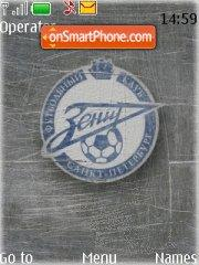 FC Zenit tema screenshot