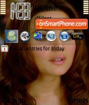 Priety Zinta theme screenshot