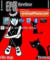 Скриншот темы Emilycats