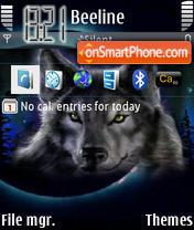 Wolf Kata theme screenshot