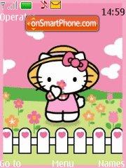Hello Kitty 10 theme screenshot