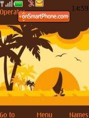 Beach Harmony tema screenshot