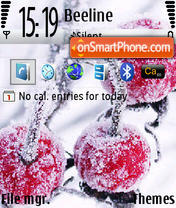 Cherry Winter Standart theme screenshot