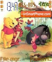 Pooh es el tema de pantalla
