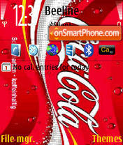 Coca Cola 06 theme screenshot