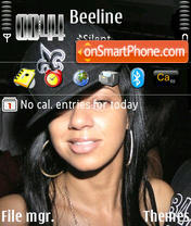 Chyna Whyte theme screenshot