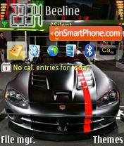 Sport Car 01 theme screenshot