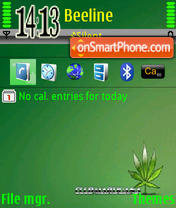 Green 06 theme screenshot