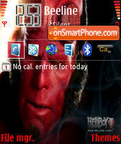 Hellboy 2 Tga es el tema de pantalla