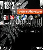 Скриншот темы Behemoth