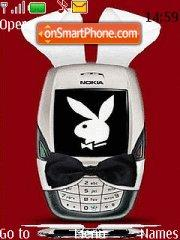 Nokia Playboy Bunny theme screenshot