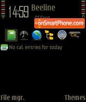 Grunge NBP theme screenshot