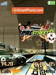 Nfs Pro Street 05 es el tema de pantalla