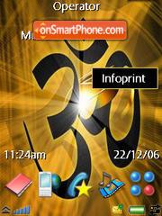 Omkar es el tema de pantalla