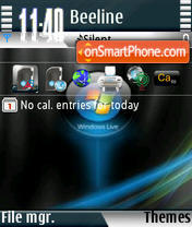 Windows Live s60v3 theme screenshot