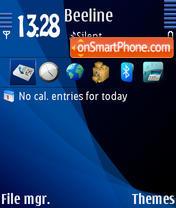 Capture d'écran Transparencies thème