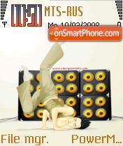 Hip Hop 01 es el tema de pantalla