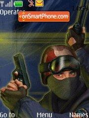 Counter Strike 13 theme screenshot